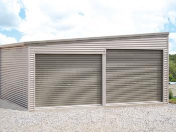 Monopitch/Skillion Roof Garage - Katherine Sheds and Garages