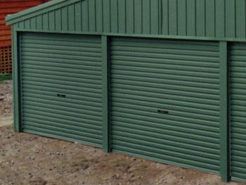 Additional Roller Doors - Katherine Sheds and Garages